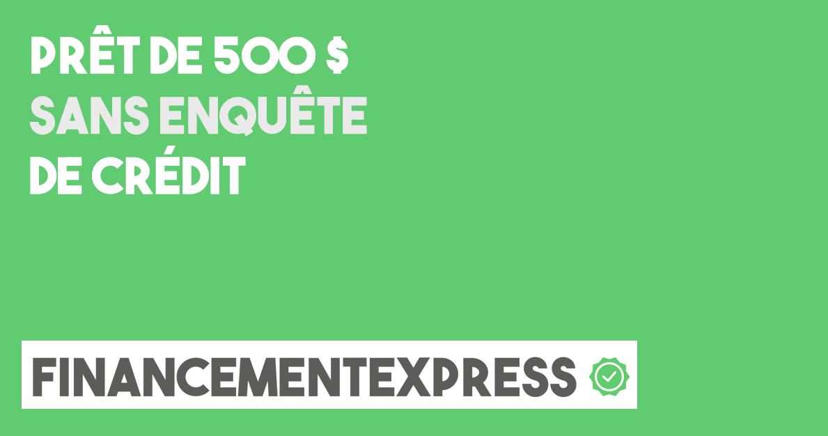 prêt 500